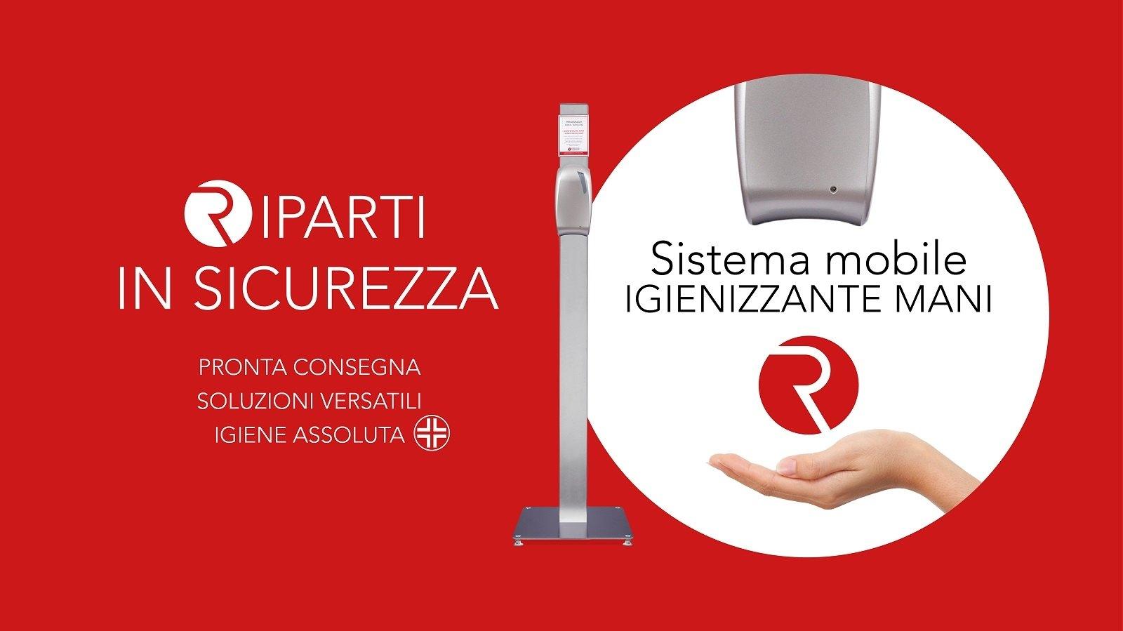 Igienizzante mani mobile