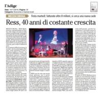 L'Adige 14 novembre 2019