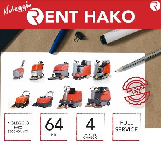 Noleggio macchine per la pulizia Hako