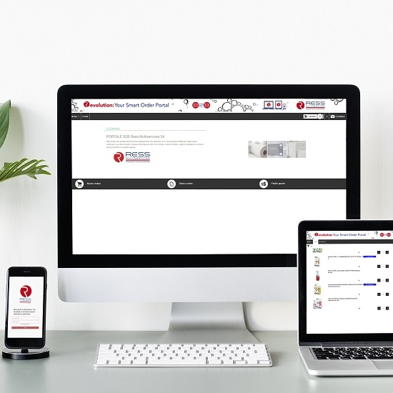 Portale acquisti online Ress Multiservices