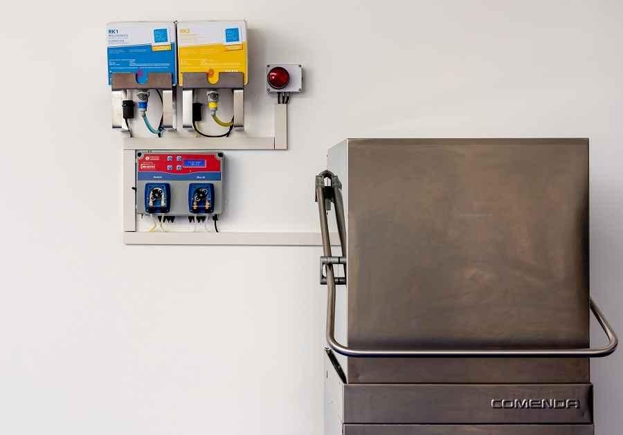 Sistema di dosaggio lavastoviglie