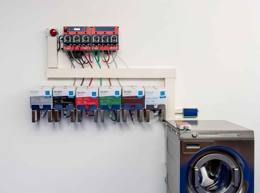 Sistema di dosaggio per lavatrice
