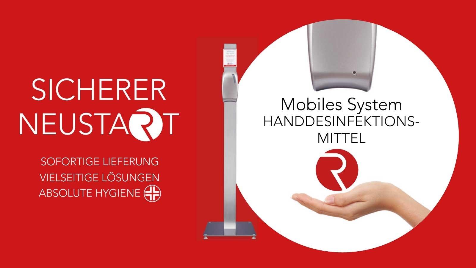 Mobiles System Handdesinfektionsmittel